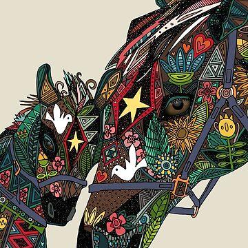 Pferd Liebe Stein von scrummy