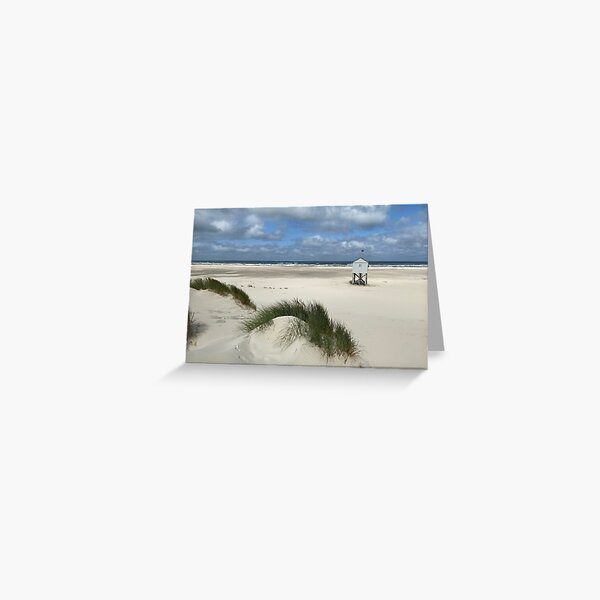 Save house Terschelling Greeting Card