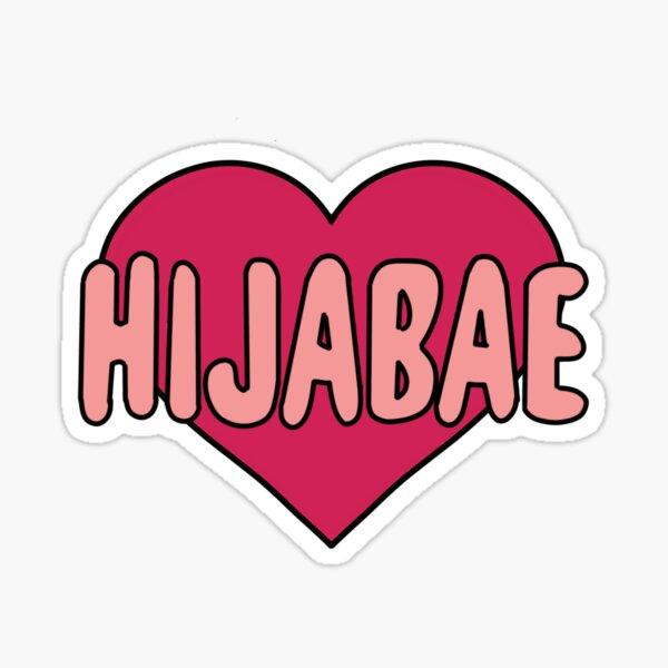 Hijabae Sticker Sticker