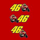46 and Valentino Rossi Stickers by ilmagatPSCS2