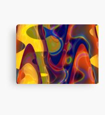 Pastel Colours Canvas Print