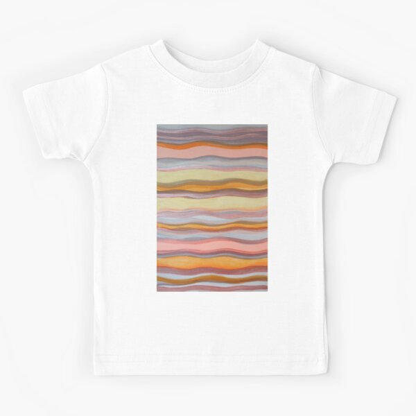 Pink waves Kids T-Shirt