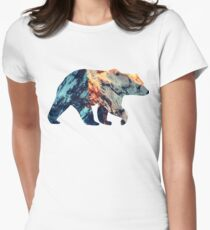 Bear Women's Fitted T-Shirt
