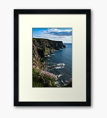 Cliffs Of Moher, Clare, Ireland Framed Print
