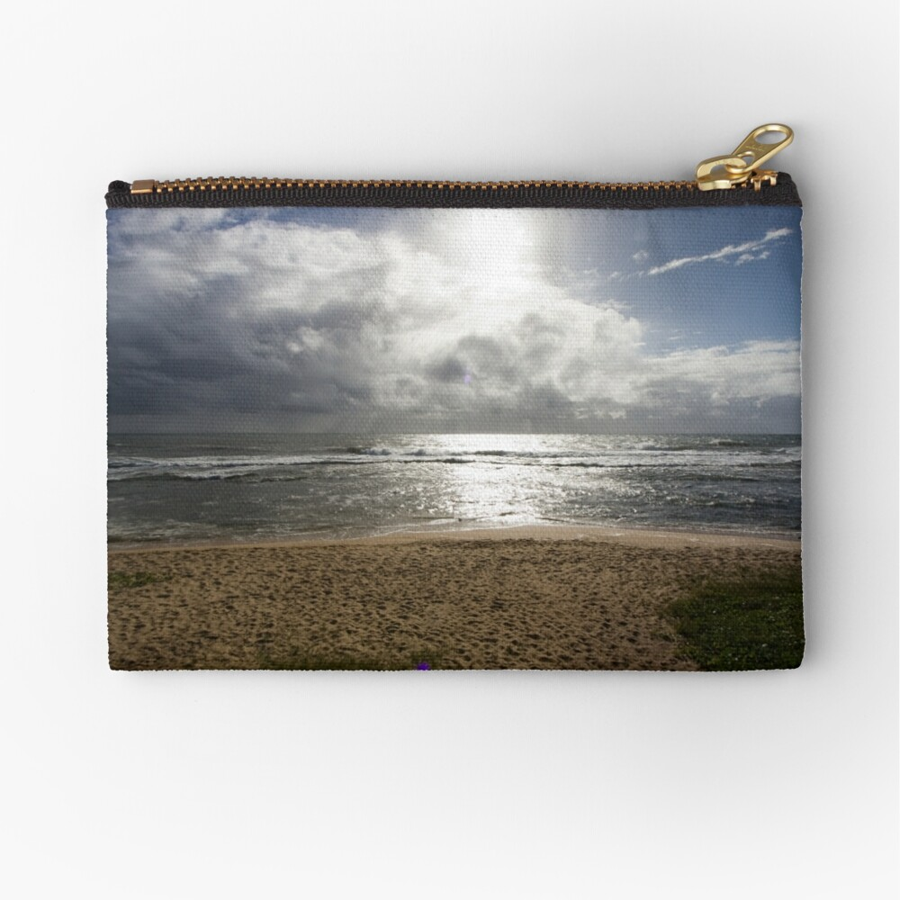 Storm at Sea Zipper Pouch