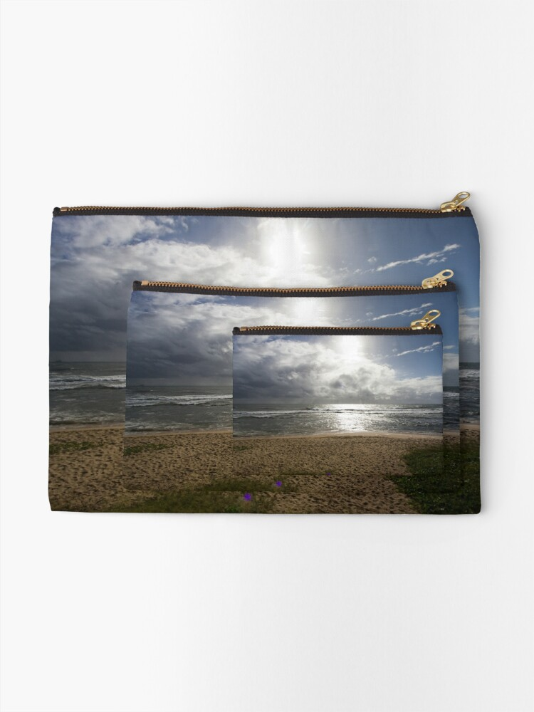 Alternate view of Storm at Sea Zipper Pouch