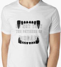 The Patience of Mogar Men's V-Neck T-Shirt