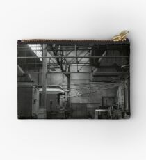 Resting in the Engine House Studio Pouch