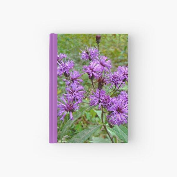 New York Ironweed Wildflower - Vernonia noveboracensis Hardcover Journal