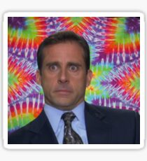Michael Scott - Life's a Trip Sticker