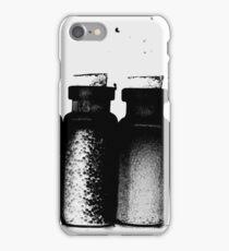 Black Little Bottles iPhone Case/Skin