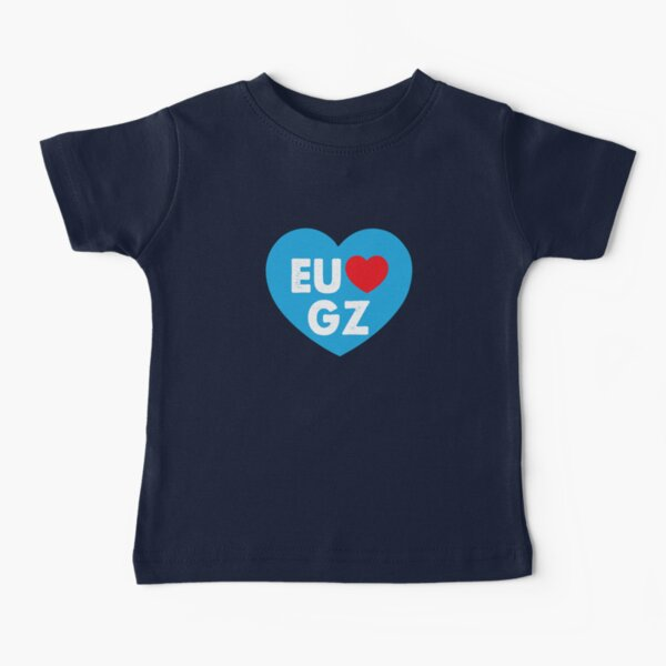 Eu Amo GZ Camiseta para bebés