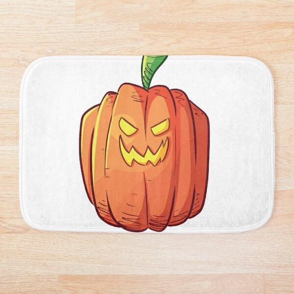 Pumpking Halloween Design Bath Mat