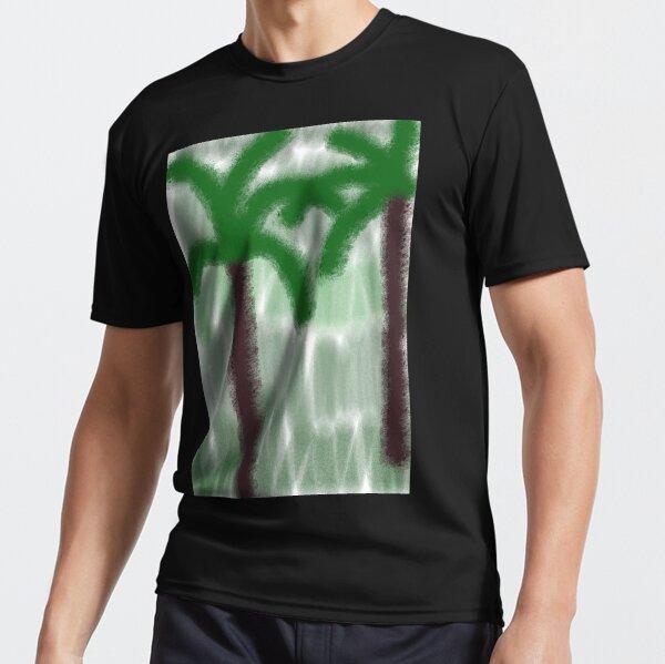 Jardín de cocoteros Camiseta deportiva