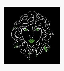 Green Gorgon Photographic Print