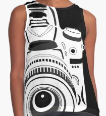 Black and White Camera Contrast Tank