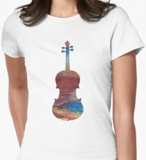 Viola Womens Fitted T-Shirt