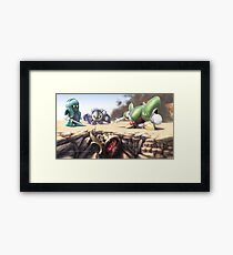 Unearthed Framed Print