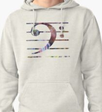 Bass clef Pullover Hoodie