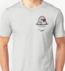 Too Many Birds! - Gray Indian Ringneck T-Shirt