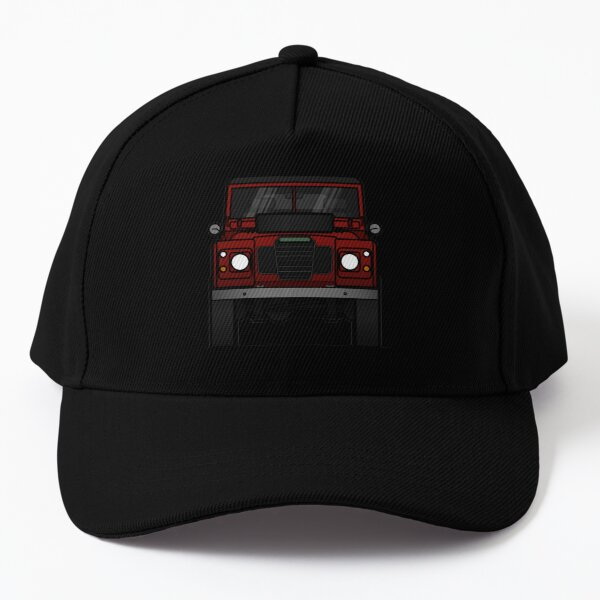 Defender Front Red Baseball Cap