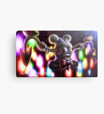 Marx the Demonic Jester Metal Print
