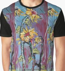 Dreamy Sunflowers Graphic T-Shirt