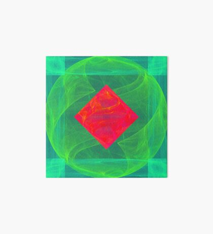 Antiquarian Pulsar infrared #fractal art Art Board Print