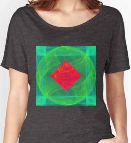 Antiquarian Pulsar infrared #fractal art Relaxed Fit T-Shirt