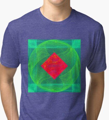 Antiquarian Pulsar infrared #fractal art Tri-blend T-Shirt