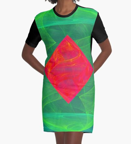 Antiquarian Pulsar infrared #fractal art Graphic T-Shirt Dress