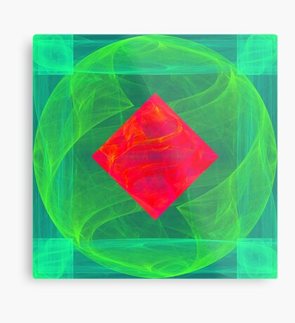 Antiquarian Pulsar infrared #fractal art Metal Print