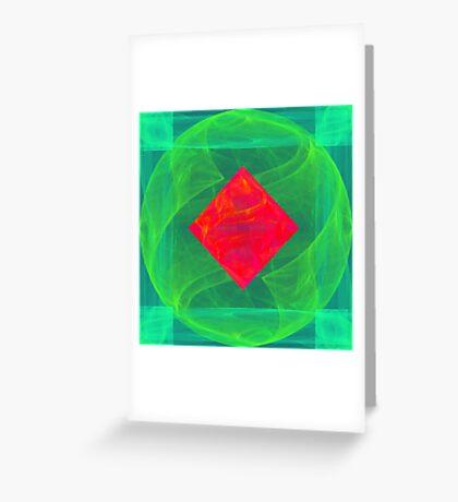 Antiquarian Pulsar infrared #fractal art Greeting Card