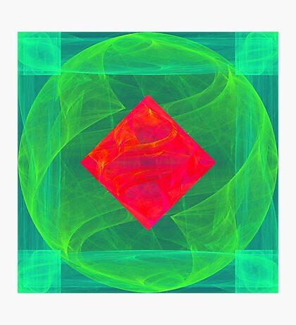 Antiquarian Pulsar infrared #fractal art Photographic Print