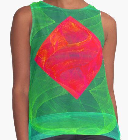 Antiquarian Pulsar infrared #fractal art Sleeveless Top