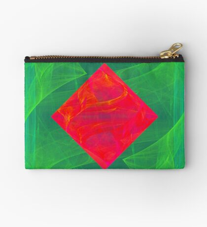 Antiquarian Pulsar infrared #fractal art Zipper Pouch