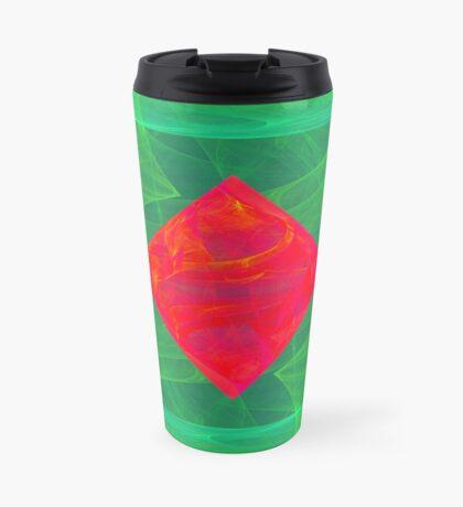 Antiquarian Pulsar infrared #fractal art Travel Mug