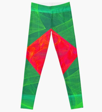 Antiquarian Pulsar infrared #fractal art Leggings
