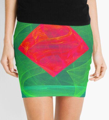 Antiquarian Pulsar infrared #fractal art Mini Skirt