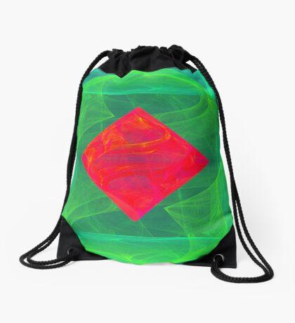 Antiquarian Pulsar infrared #fractal art Drawstring Bag