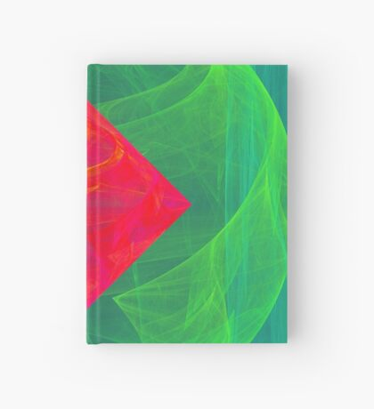 Antiquarian Pulsar infrared #fractal art Hardcover Journal