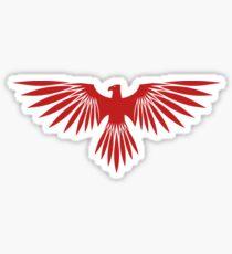 House Atreides hawk merchandise. Sticker