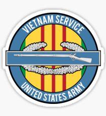 Vietnam Service CIB Sticker