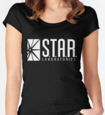 S.T.A.R. Labs Women's Fitted Scoop T-Shirt