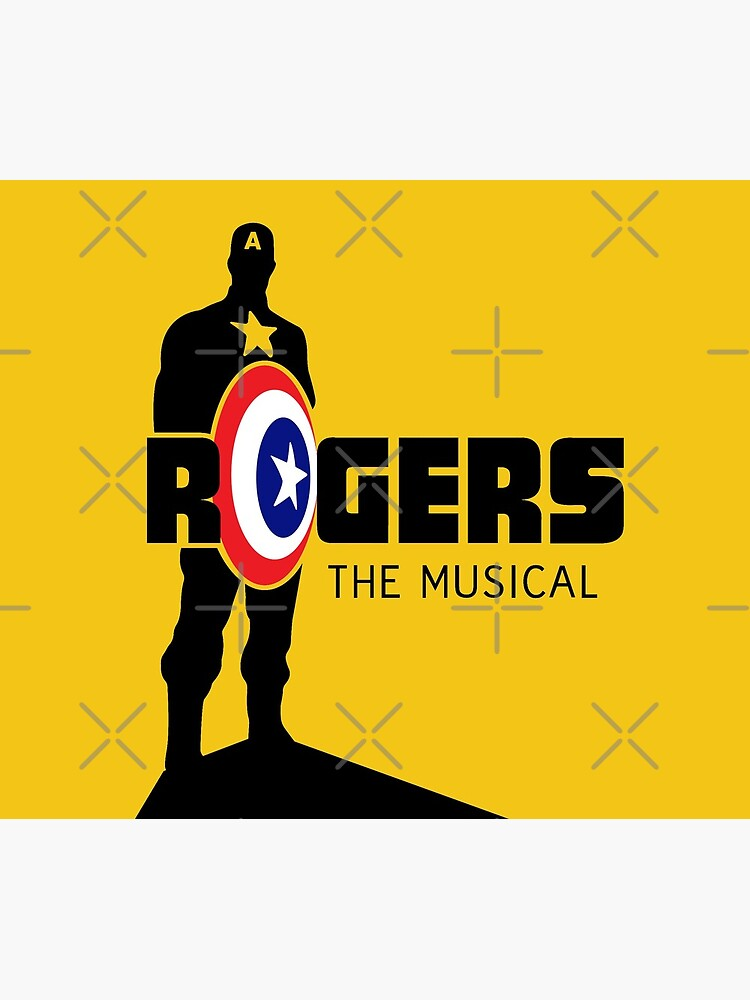 Rogers: The Musical (Black) Full Logo by jcwenhold
