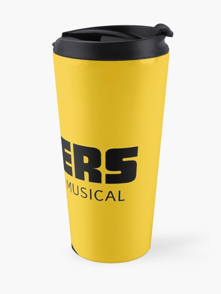 Alternate view of Rogers: The Musical (Black) Full Logo Travel Mug