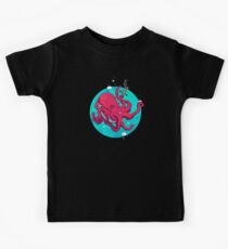 Octopus and Anchor Kids Tee
