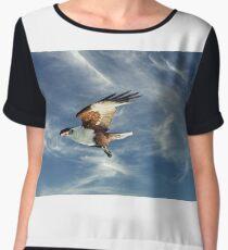 Osprey Flight. Photo Art, Prints, Gifts. Chiffon Top