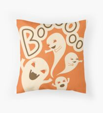 Spoopy Ghosts Throw Pillow