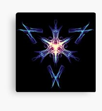 Energetic Geometry - Cybernetic Synaptic Control Theorem Canvas Print
